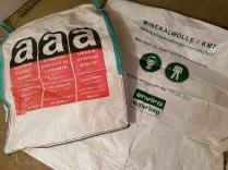 Asbestsack MIFA Sack Dämmwolle Asbest