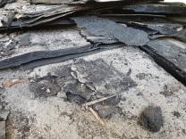 Bitumenbahn Entsorgung Phenolhaltige Teerpappe